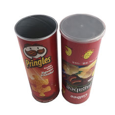 Potato Chips Packing Food Grade Tube Packaging Kraft Paper Cylinders