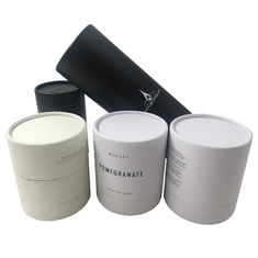 Professional Cylinder Paper Tube Cosmetic Packaging CMYK Printing