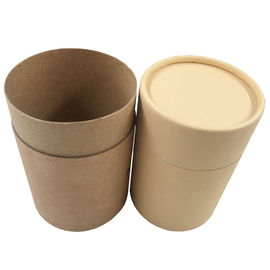 T Shirt Cylinder Kraft Tube Packaging Cardboard Tube Food Packaging Custom Size