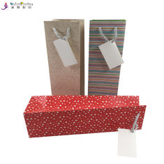 Wine Custom Printed Gift Bags Custom Printed Paper Bags For Wine Bottle Packaging