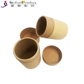 100% Recycled Custom Printed Paper Tubes Customized Thickness Bottle Application