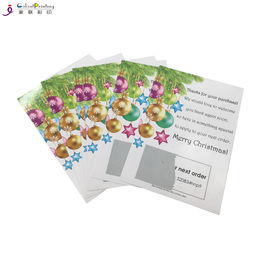 Professional Card Printing Services Scratch And Win Card For Promotion